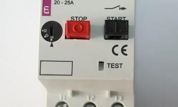 Sve vrste zaštitnih sklopki proizvođača ETI